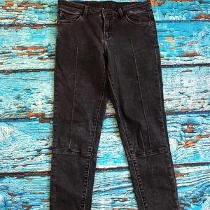 Zara Z1975 Dark skinny stretch jeans. Size 2
